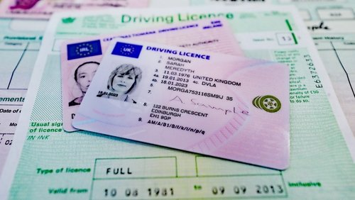 UK / NI driving licence exchange for an Irish driving licence